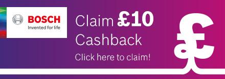 Claim £10 Cashback