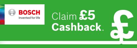 Claim £5 Cashback