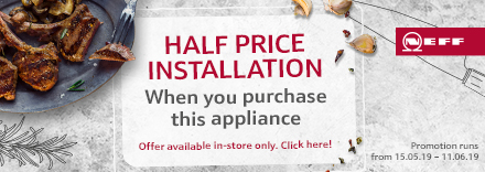 Half Price Installation - In Store Only