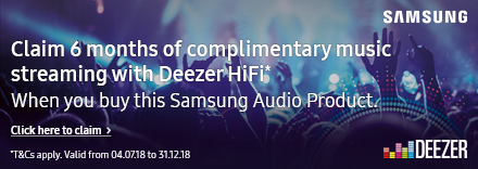 Claim 6 months Deezer HiFi Subscription