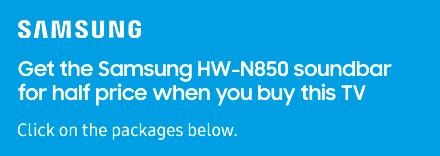 Half Price Soundbar Offer