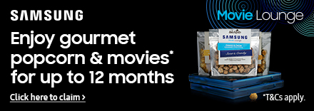 12 months Movie Lounge Gourmet Popcorn Subscription