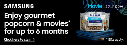 6 months Movie Lounge Gourmet Popcorn Subscription