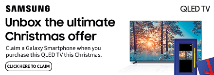 Claim a Galaxy Smartphone when you Purchase This TV