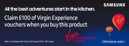 Claim a £100 Virgin Experience Voucher