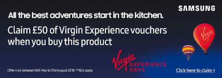 Claim a £50 Virgin Experience Voucher