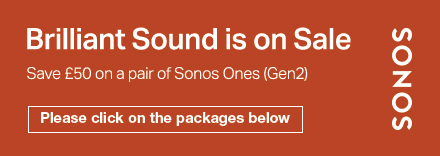 Save £50 on a pair of Sonos Ones (Gen2)