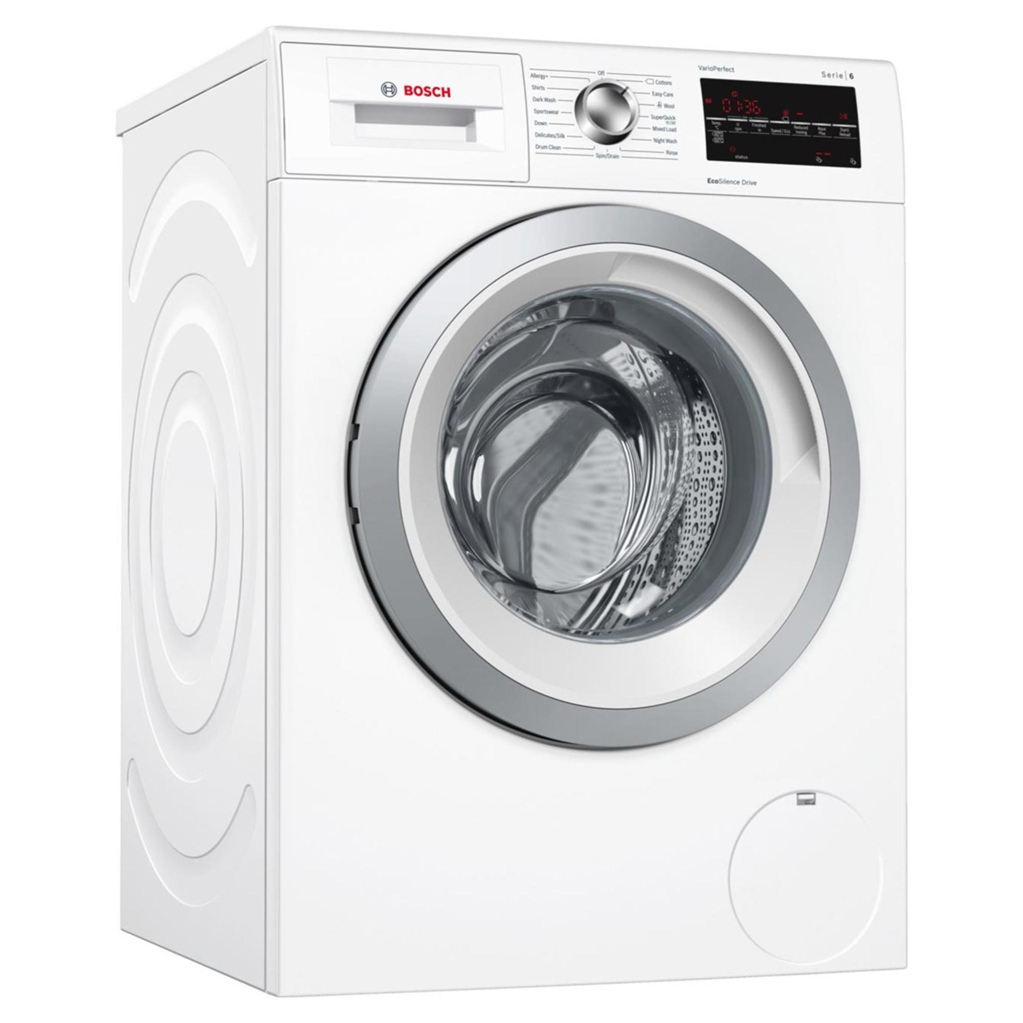 Bosch WAT GB 9KG Load Capacity 1200rpm Spin Speed Washing