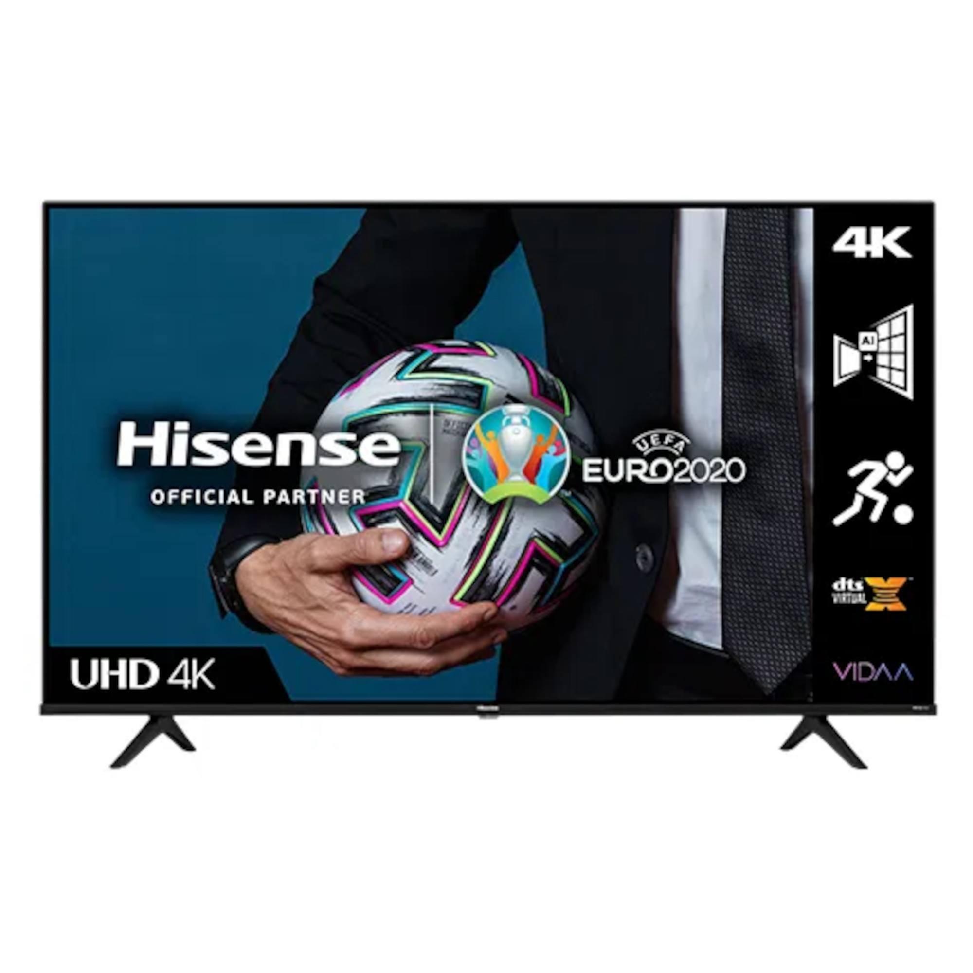 Hisense A6G Series H43A6GTUK 43 HDR 4K Ultra HD DLED TV