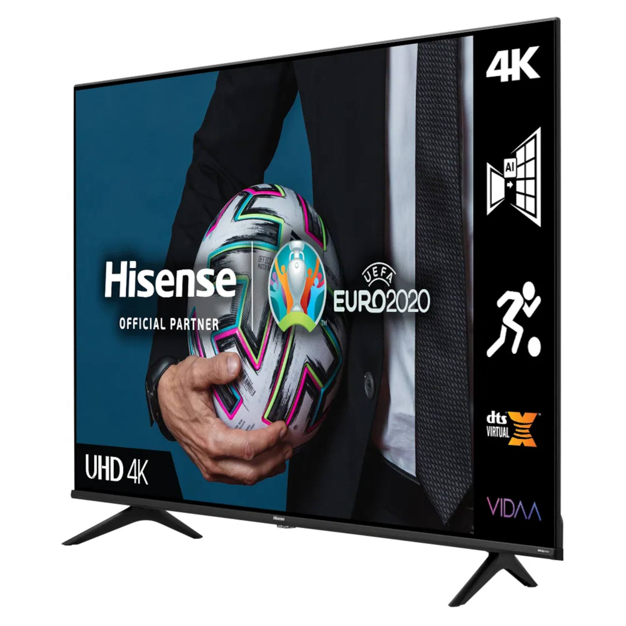 thumbnail 2 - Hisense A6G Series H43A6GTUK 43 HDR 4K Ultra HD DLED TV