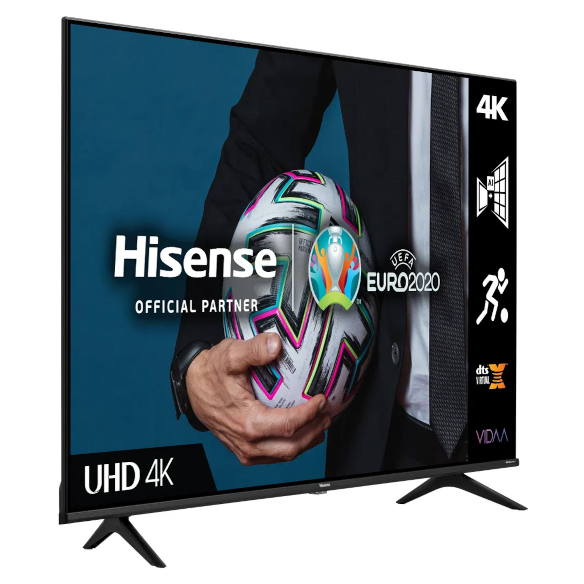 thumbnail 3 - Hisense A6G Series H43A6GTUK 43 HDR 4K Ultra HD DLED TV