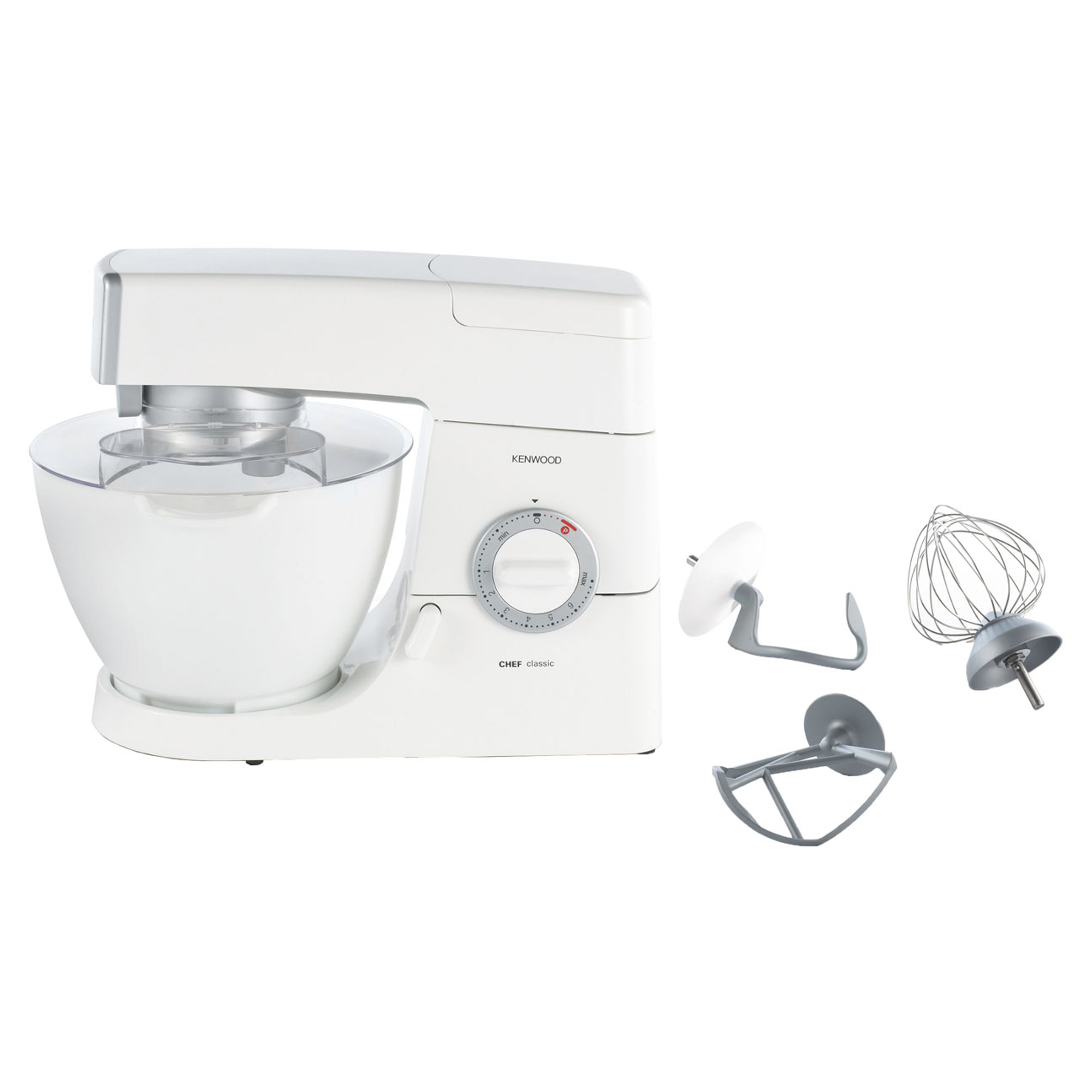 Km330 Kenwood Chef Classic 800w 4 6 Litre White Kitchen Mixer
