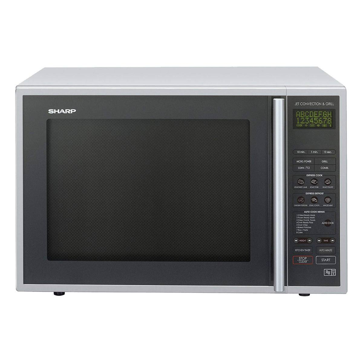 Sharp R959slmaa 900w 40litre Convection Grill Microwave In