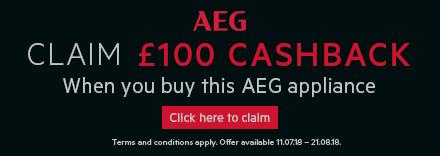 Claim £100 Cashback