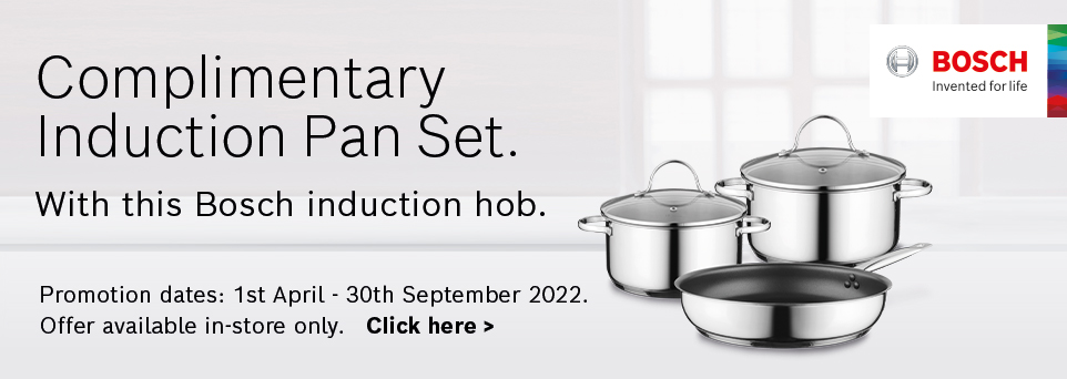 Complimentary Induction Pan Set