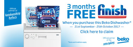 Claim 3 Months Free Finish Tablets