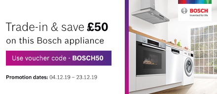 Trade-in & Save £50 on this appliance
