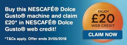 Claim £20 Web Credit