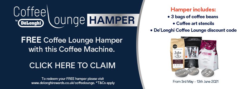 Free Coffee Lounge Hamper with this Machine