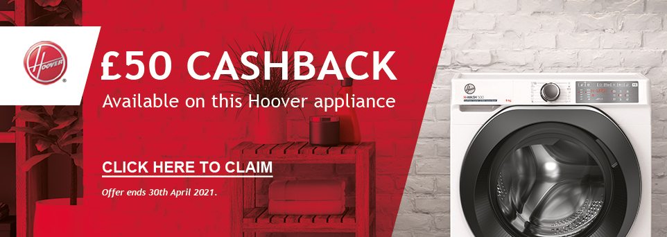Claim £50 Cashback on this appliance