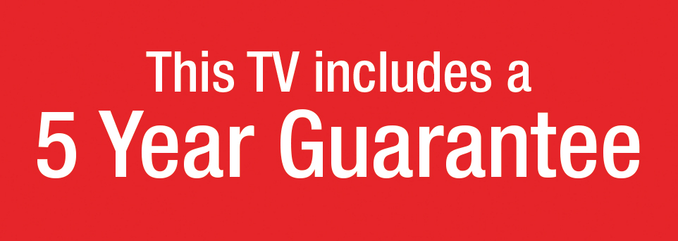 Includes 5 Year Guarantee