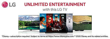 Watch Disney+ on this LG OLED TV
