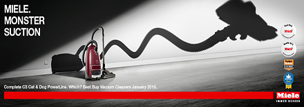 Miele Monster Suction