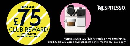 Claim Up To £75 club reward