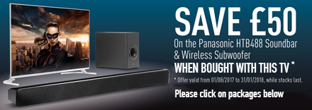 Save £50 on a HTB488 Soundbar