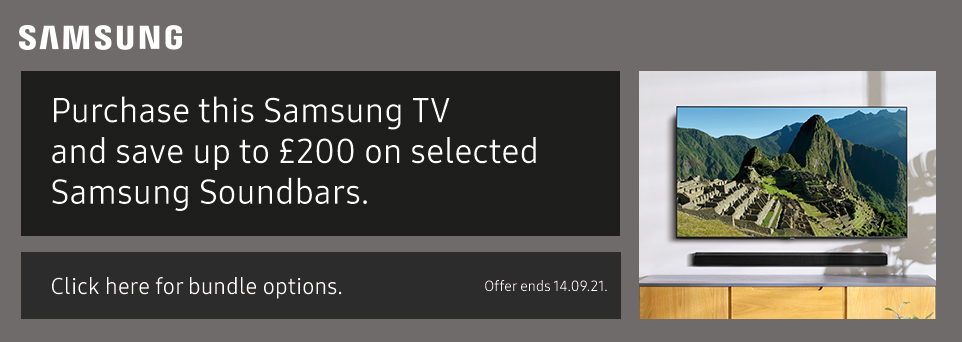 Save up to £200 on selected Soundbars with this TV