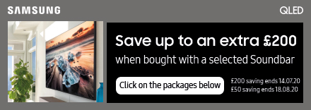 Save up to £200 when bought with selected Soundbars