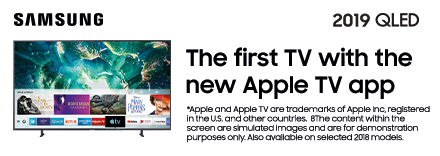 First TV with the New Apple TV App