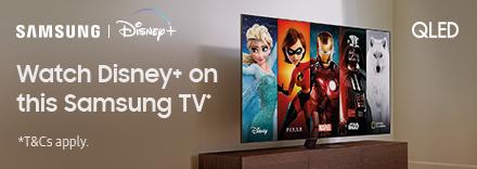 Watch Disney+ on this Samsung TV