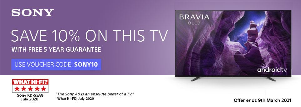 Save 10% off this TV with Voucher Code