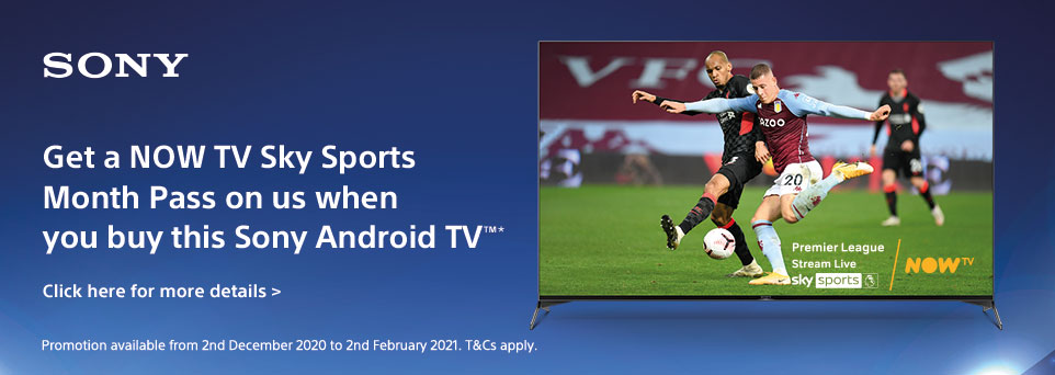 Get a NOW TV SkySports Pass with this TV